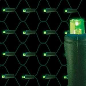 5mm LED net lights 70L Green