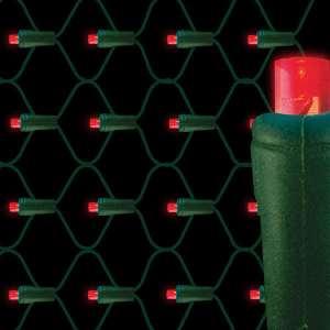 5mm LED net lights 70L Red