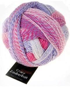 crazy zauberball sock wool 2254