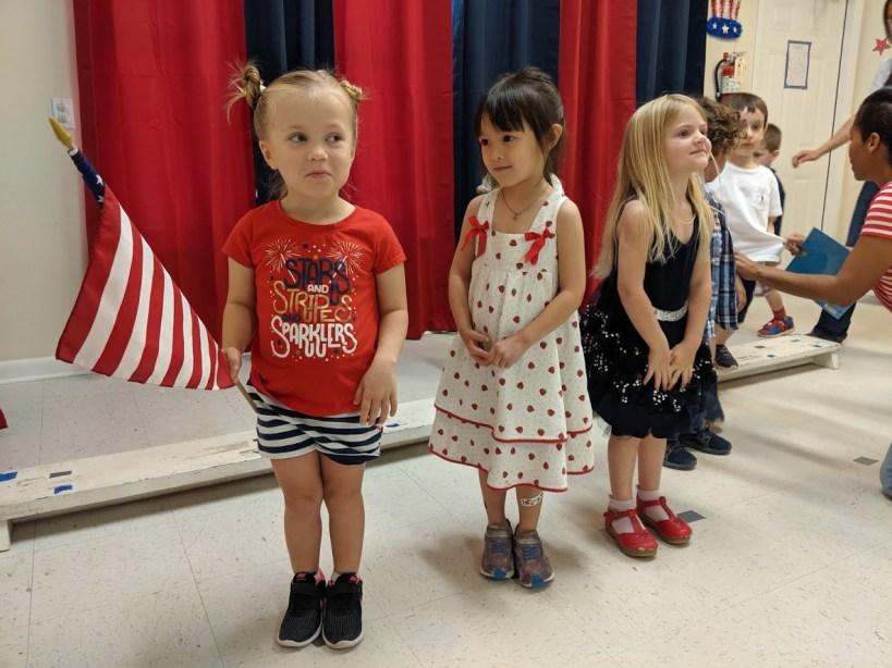 2018 4th of July Program at Northwest Montessori House of Children