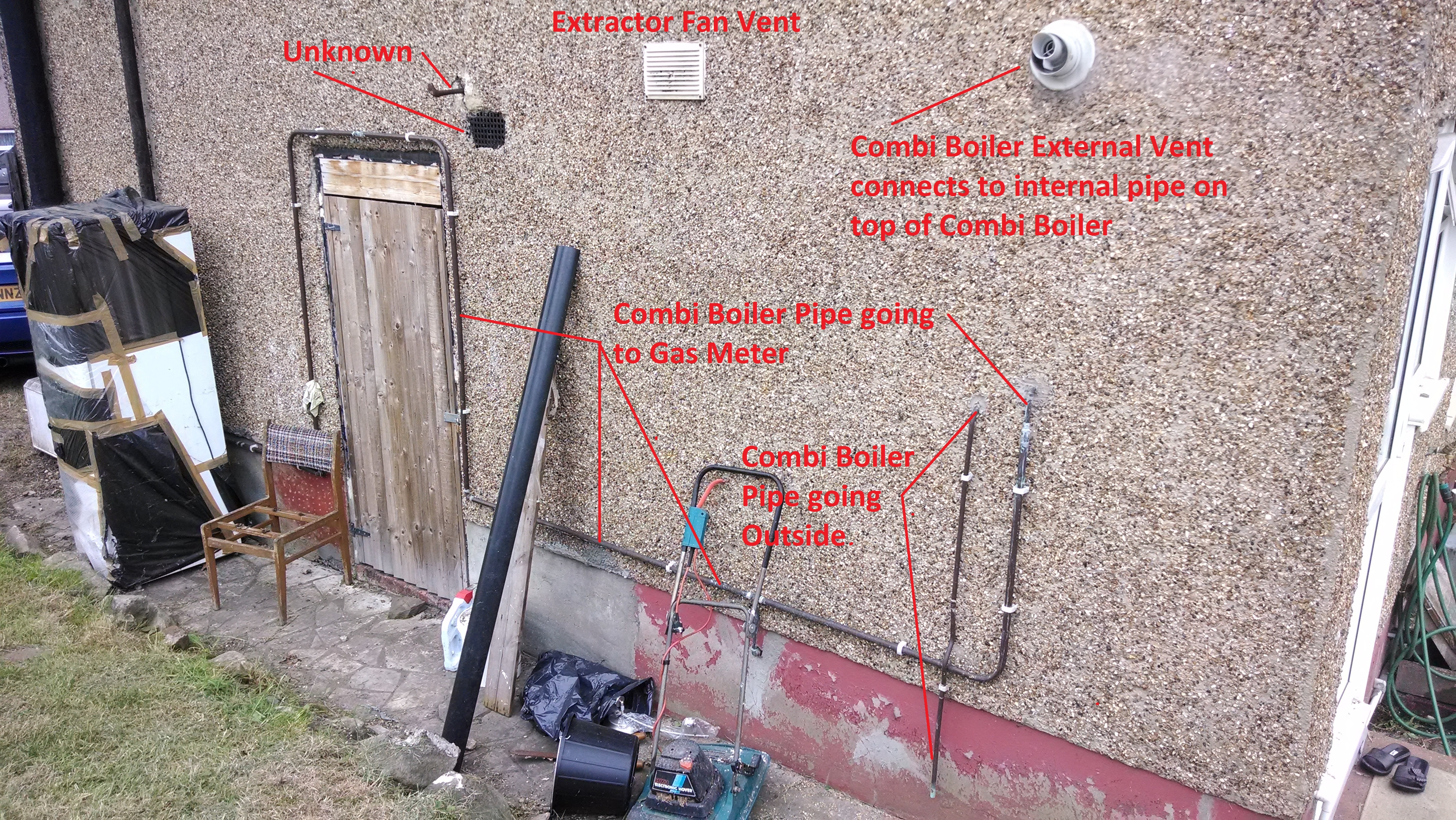 External Gas Drainage Amp Waste Pipes Home Project
