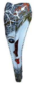 Dosh Palm Frond Mask