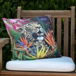African Jungle: Leopard Pillow Cover