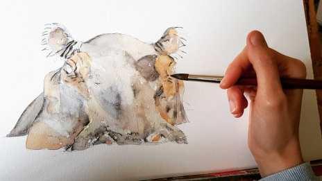 LP_Painting Hippo