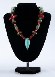 Necklace Blue Arrow