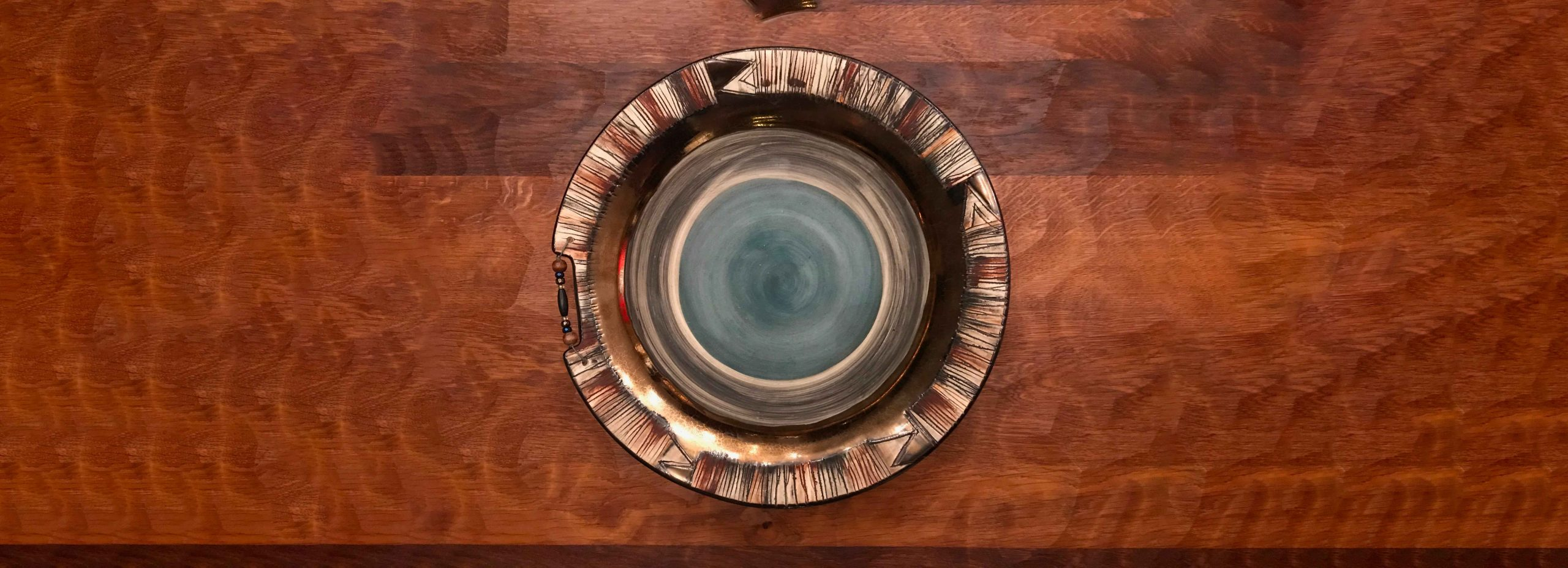 Ceramic bowl handmade in South Africa Earth tones to give a warm feeling
