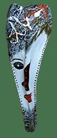 Dosh Palm Frond Mask by Bob Mnisi