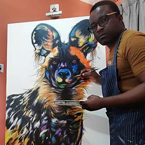 Justin Mashora on Nwabisa African Art Gallery