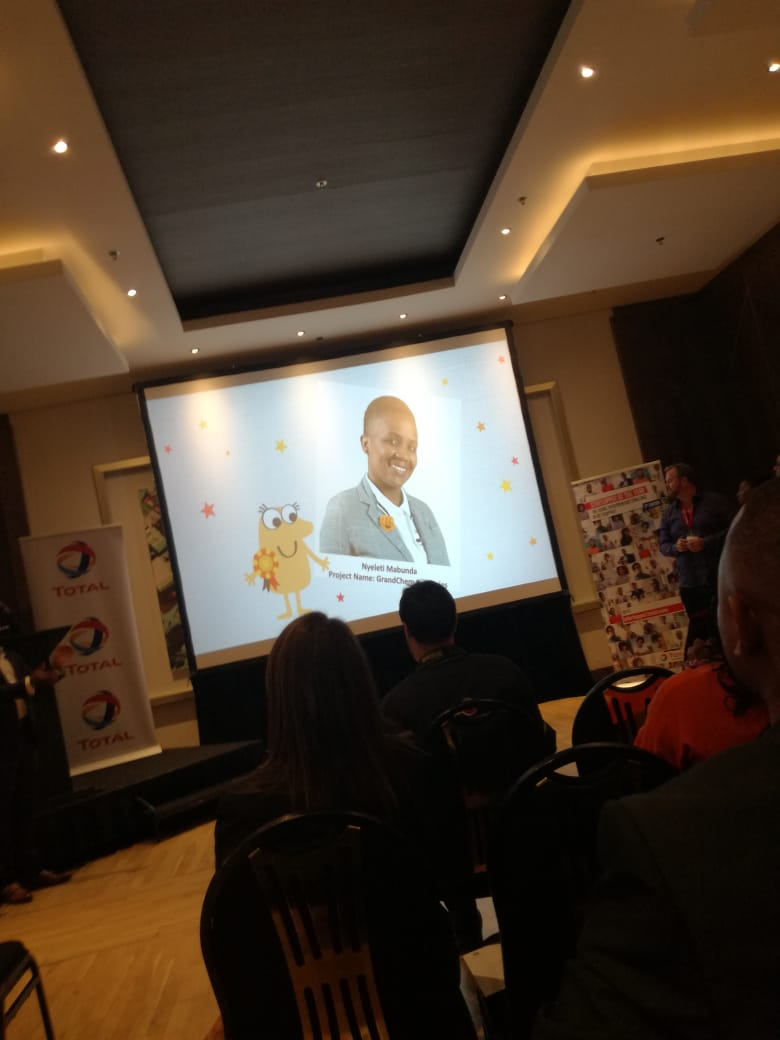 Vahlave's wildest dream, Nyeleti Mabunda made it to the top 13 of Total South Africa Startupper challenge 2