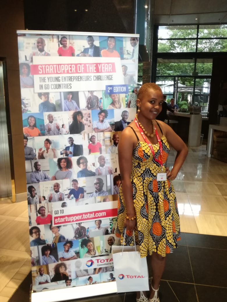 Vahlave's wildest dream, Nyeleti Mabunda made it to the top 13 of Total South Africa Startupper challenge 3