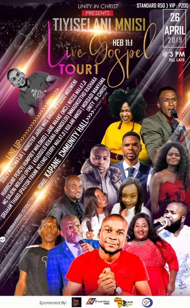 Unity In Christ Presents: Tiyiselani Mnisi Live Gospel Tour 2