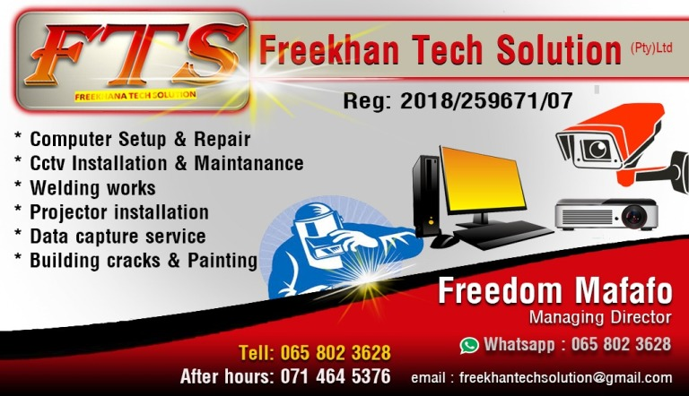 Meet Freedom Mafafo of Freekhan Tech Solutions 1