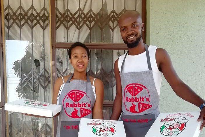 Xitsakiso Baloyi brings pizza treats to the dusty streets of N'wamitwa 1