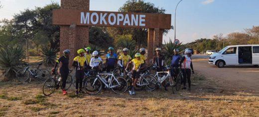 Ntwanano Ngobeni Cycled 440km from Pretoria to Tzaneen for charity