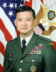 Gen. Eric K. Shinseki, President-elect Barack Obama's nomination for the Secretary of Veterans Affairs