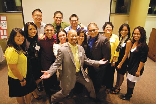 Some of Seattle University's Filipino American alumni (Photos by Clara Ganey/Seattle University)