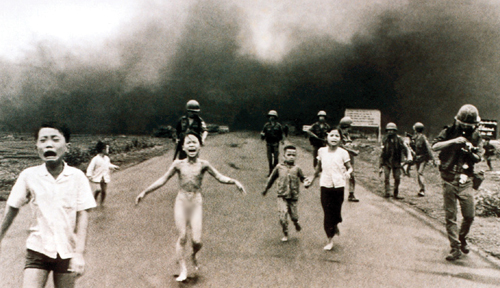 Image result for The Napalm Girl picture