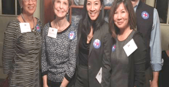 Michelle Kwan fundraises for Hillary Clinton in Seattle
