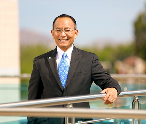 Dr. Shouan Pan (Photo from mesacc.edu)