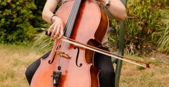Cello concert at Central Library