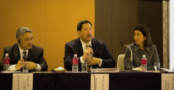 Japanese American Leadership Delegation return