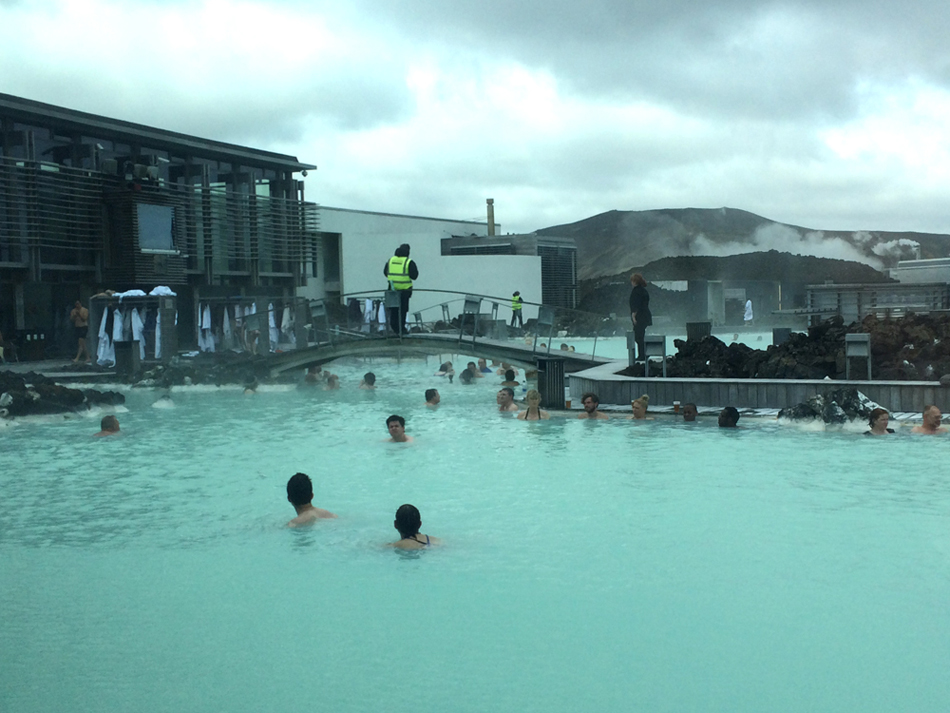 Blue Lagoon in Iceland. (Photo by George Liu/NWAW)