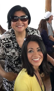 Maureen Francisco and mom