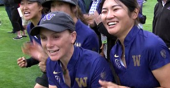 Trio leads UW to women's golf title