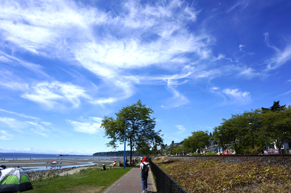 White Rock Beach (Photo by George Liu/NWAW)