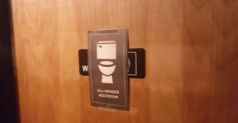 """Excuse me while I go to the unisex room…"" — Are ID businesses complying with the all-gender bathroom signage ordinance?"