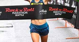 Sophia Liu wins Seattle Rock 'n' Roll Marathon