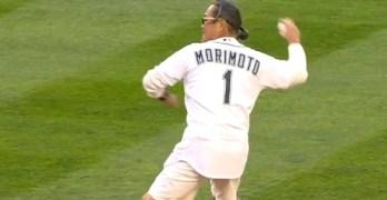 Chef Morimoto's first pitch