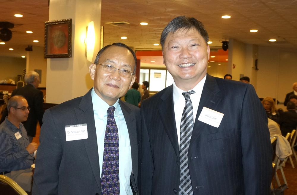 Dr. Shouan Pan and Judge Dean Lum