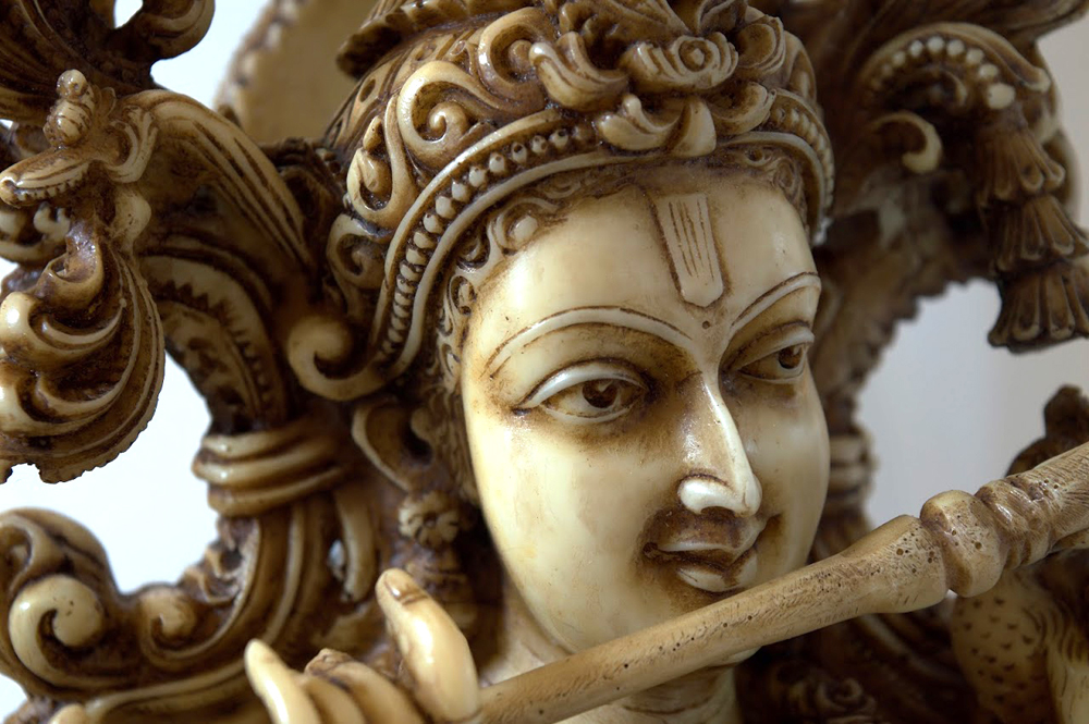 A statue of Lord Krishna playing the flute (Photo provided by the UW)