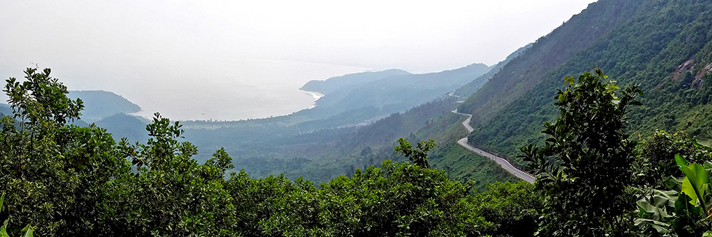 The view from Hai Van Pass (Photo by Rich Son)