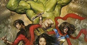 Marvel's new Asian hulk