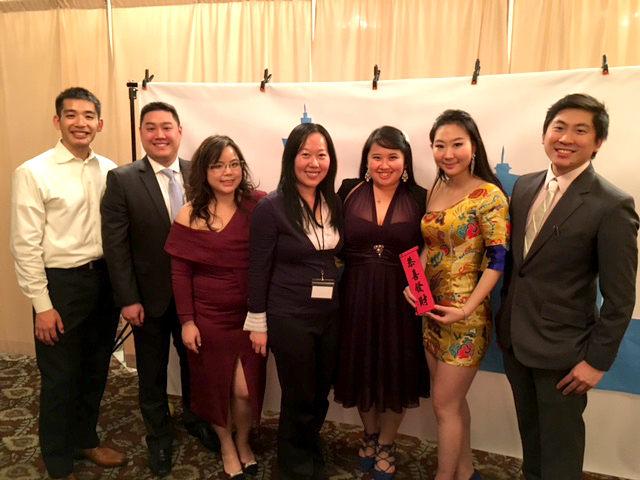 TAP-SEA officers (from left): Eric Chang, Jerome Chen, Angel Hsu, Carlene Liu, Olivia Zen, Lucy Meng, and Jeff Wei. (Photo by John Liu/NWAW)