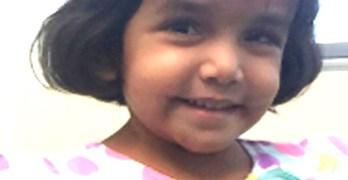 Child's body identified as missing toddler Sherin Mathews