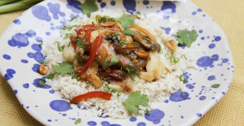 Scratch the itch of Asian takeout craving with Kung Pao Cod