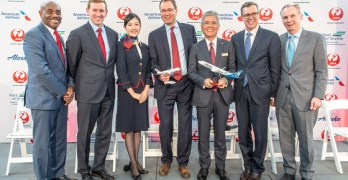 Japan Airlines service to Sea-Tac in 2019