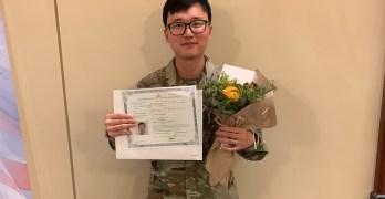 Army specialist Kim naturalized