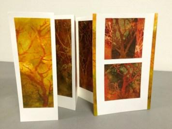"""""""Autumn Colors"""" Concertina Card"""
