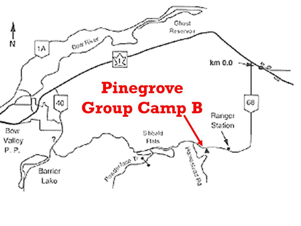 July 29th Church Service at Pinegrove B Group Camp in