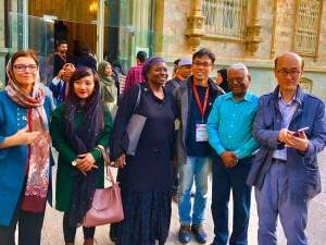 Dr Ng Wai Chong and Dr Natalia Kanem, Director UNFPA, at the Green Palace, Tehran