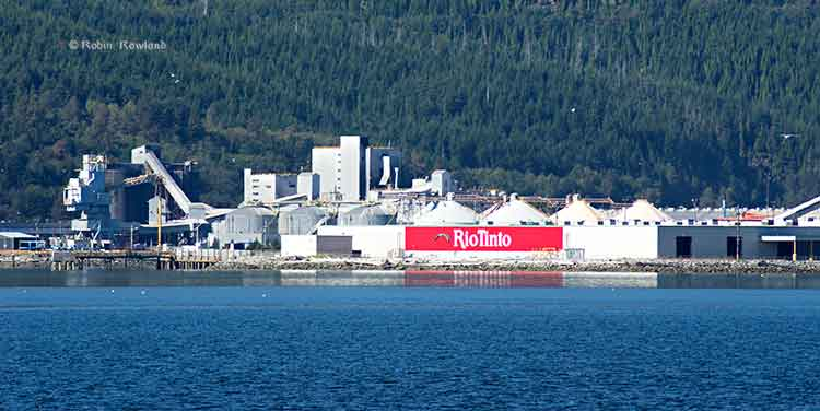Kitimat harbour