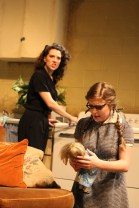 Clara Hillier and Kate Thresher in Wait Until Dark, directed by Bobby Bermea. Photos by Jason Maniccia, copyright 2014.