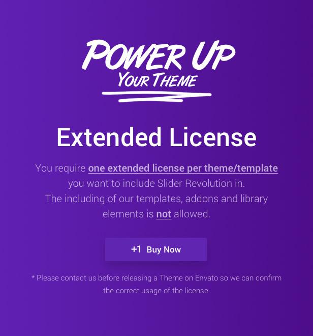 Slider Revolution 6 Magento Extension - Extended License