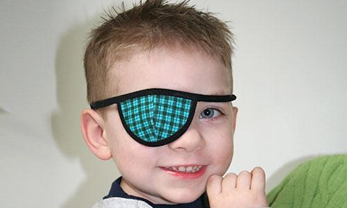 prosthetic eye children