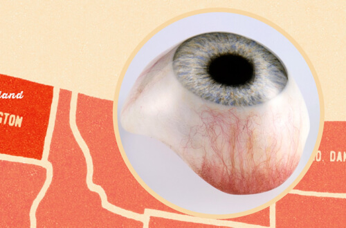 artificial eye photo as part of our artificial eye media