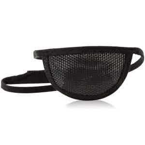 Aeropatch mesh eye patch in black